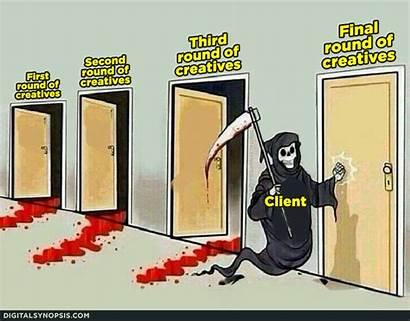 Graphic Memes Epic Designers Grim Reaper Client