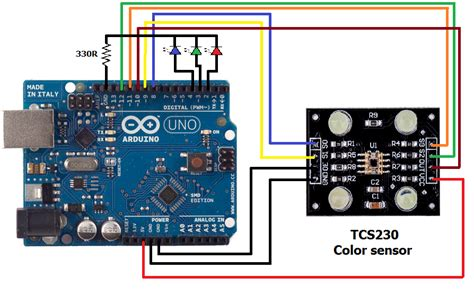 color sensor color sensor using arduino and tcs230 simple projects