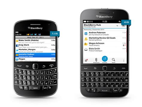 set an out of office reply using a blackberry the step