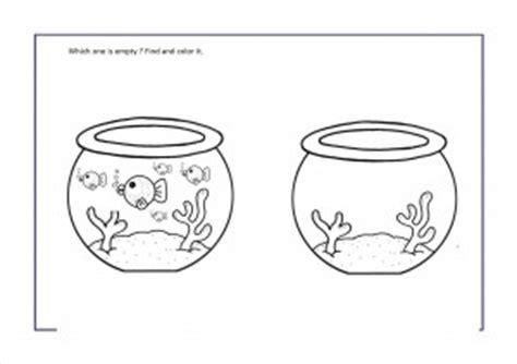 full  empty worksheets  preschool crafts