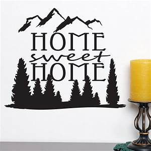 Home Sweat Home : home sweet home quote wall sticker world of wall stickers ~ Markanthonyermac.com Haus und Dekorationen