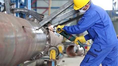 industrial worker  manufacturing plant stock footage