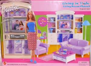 living room barbie furniture living in style new mattel