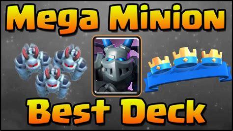Clash Royalemega Minion Lavahound Deck For Arena 7