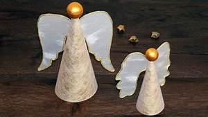 Bastelideen Weihnachten Erwachsene : engel aus papier basteln zu weihnachten paper angels ~ Watch28wear.com Haus und Dekorationen