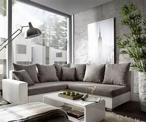 Weiß Grau Wohnzimmer : wohnzimmer in grau wei ~ Indierocktalk.com Haus und Dekorationen