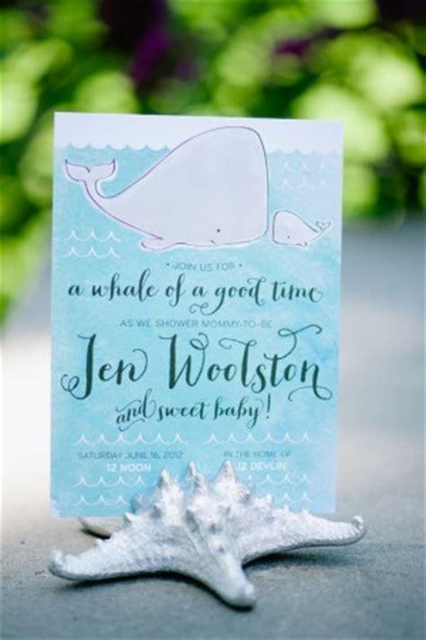 peach turquoise   sea baby shower invitations