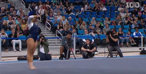 Hip Hop Gymnastics Floor Routine by The Is Completely Flipping Out This Gymnast