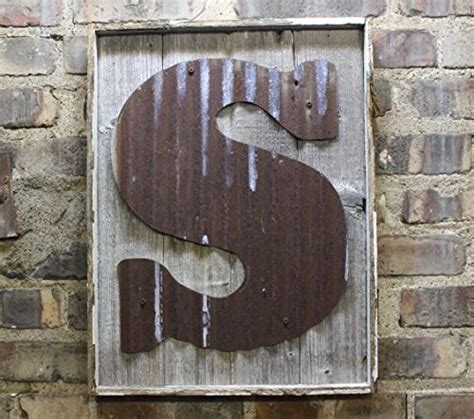 metal letters home decor amazoncom