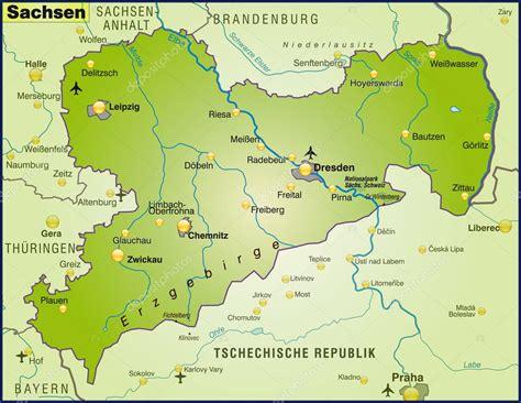 15+ sachsen karte landschaften | exeter-ca.com