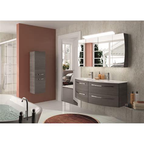 meuble de salle de bains image decor gris graphite  cm