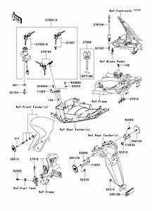 2009 Kawasaki Ninja 650r Parts Diagram