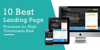 Best Landing Pages 2017 10 Best Landing Page Practices For High Conversion Rate