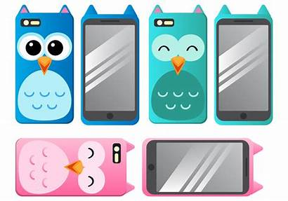 Phone Case Vectors Vector Accessories Graphics Cases