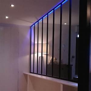 Verriere Interieure Metallique : verri res m talliques style atelier d 39 artiste art m tal ~ Premium-room.com Idées de Décoration