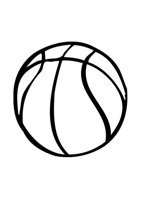 Kleurplaat Basketbal by Kleurplaat Basketbal Afb 10388