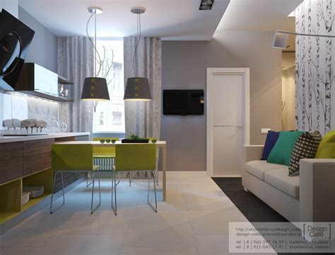 Apartement Living Room : Apartment For A Young Family