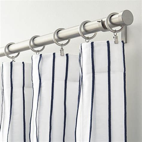 25 best ideas about blue striped curtains on pinterest