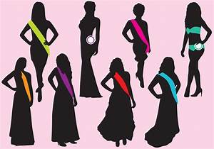 Pageant Silhouettes - Download Free Vector Art, Stock ...