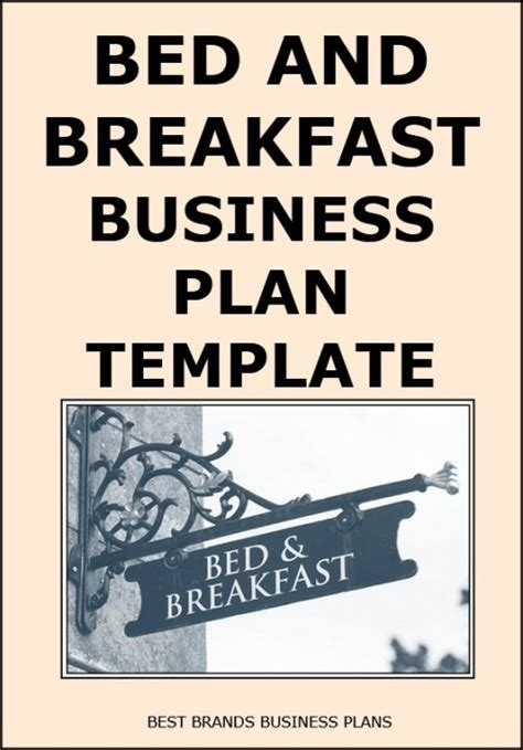 Bed And Breakfast Business Plan Powerpoint