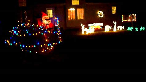 my house christmas lights decorations youtube