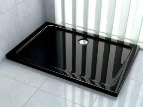 Dusche 100 X 100 : 120 x 100 x 5 cm duschtasse in schwarz duschwanne dusche brausewanne acrylwanne ebay ~ Bigdaddyawards.com Haus und Dekorationen
