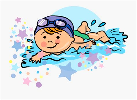 foto de Swimming Drawing Clip Art Swimming Cartoon Png