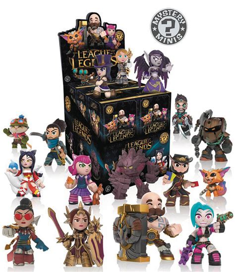 League Of Legends Series 1 Mystery Mini Trading Figures