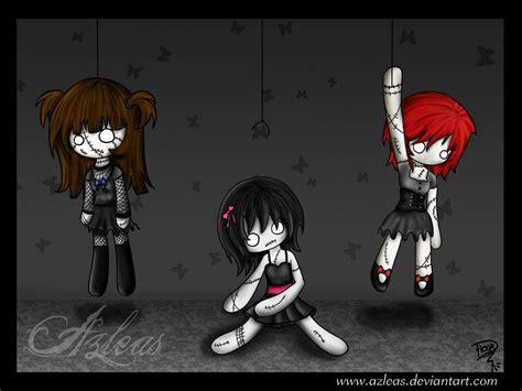 Gothic Dolls By Azleas
