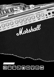 Marshall Amplification Stereo Amplifier Mg30dfx User Guide