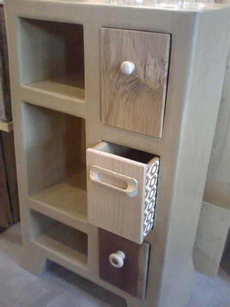 meuble d appoint cuisine cuisine crã ations meubles bois palette sur a