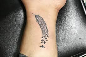 Small Feather Tattoo With Meaning