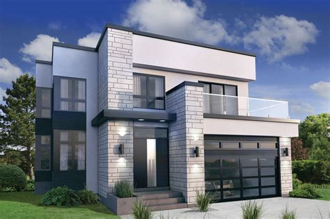 contemporary prairie style house plans small one modern style house plan 3 beds 2 50 baths 2370 sq ft