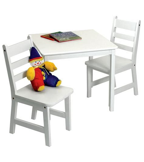 lipper international child s square table chairs 3