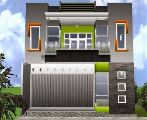 desain ruko  lantai minimalis modern rumah impian