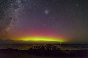 Aurora Southern Lights Melbourne Australie Les Clichés Des Aurores Australes De Philip