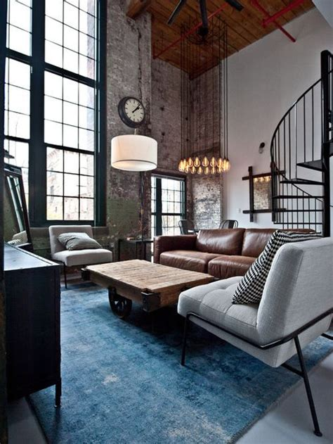 ultimate industrial living room design ideas living