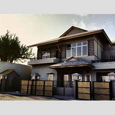 Chocolate Brown Exterior House Color  Gray And Brown