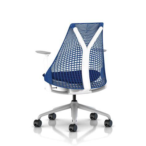 herman miller berry blue sayl chair office furniture