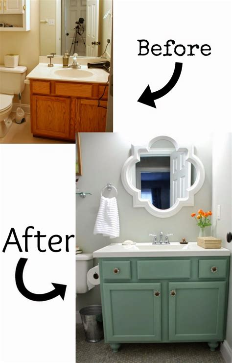 Diy Bathroom Cabinet Makeover by 7 Best Diy Bathroom Vanity Makeovers Before And After