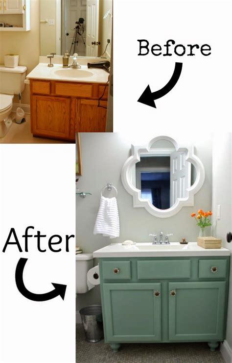 diy bathroom vanity makeovers