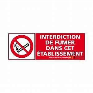 Panneau Interdiction De Fumer : panneau de signalisation interdiction de fumer dans cet ~ Melissatoandfro.com Idées de Décoration
