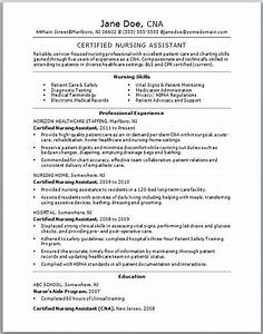 Certified nursing assistant resume certified nursing for Legal document assistant courses