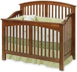 baby convertible crib nursery furniture bed plans ebay