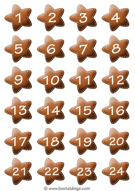 Auch als window color vorlage lassen sich unsere kleinen und großen sterne hervorragend verwenden. Weihnachtsmotive Adventskalender Zahlen zum ausdrucken ...