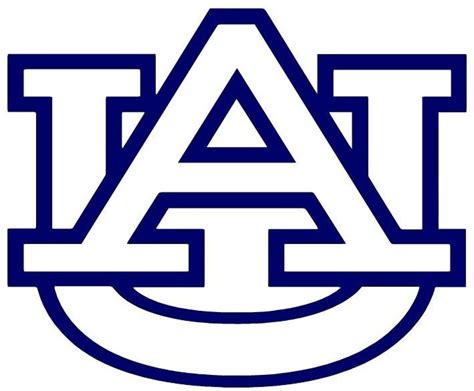 Auburn University Corn Hole Baggo Bag Toss Decal (2) Logo