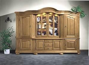 Eiche Rustikal Möbel : wohnschrank eiche vollholz rustikal massiv modell blankenfeld 300 eichenm bel klassische ~ Orissabook.com Haus und Dekorationen