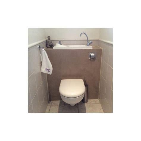 wc suspendu geberit avec grand lave mains et robinet