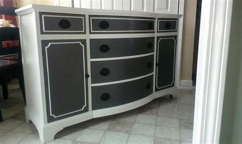 Painted Furniture Painted Sideboard Painted Buffet
