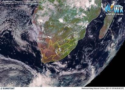 Satellite Africa Natural Animated Rgb Weather Southern